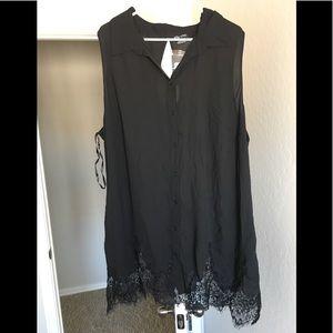 City chic women's xxl 24 shirt